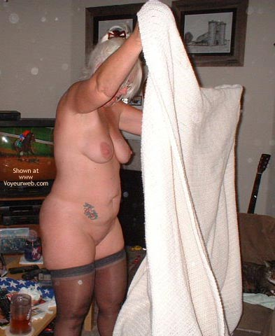 Pic #7 - Tammy On Cleaning Day