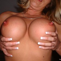 Tit Holding - Large Breasts, Titties, Topless