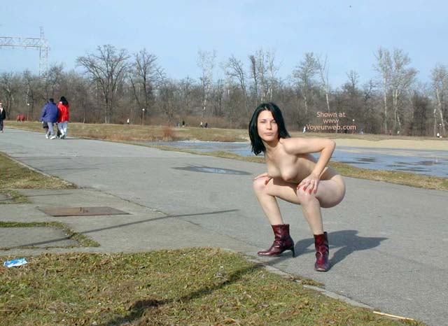 Pic #6 - Completely Naked On a Cold Day 7