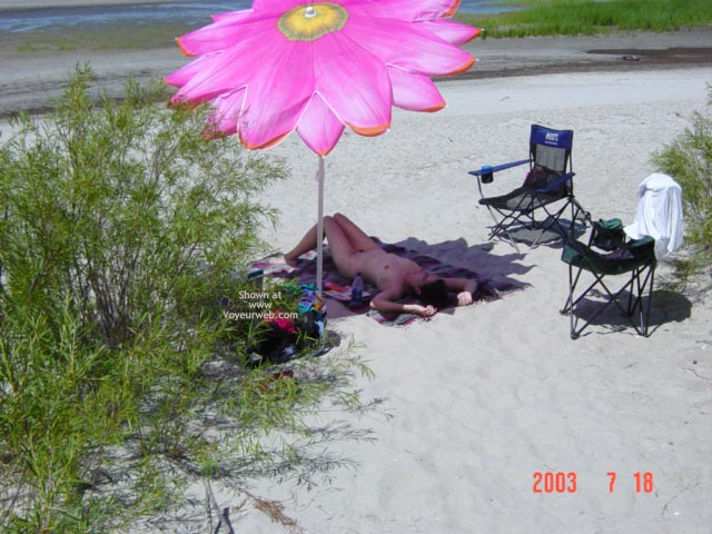 Pic #5 - My Wife At The Beach