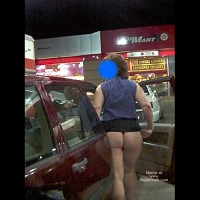 Sexy Wife in Out and About