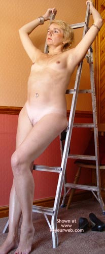 Pic #9 - Debbie And The Stepladder