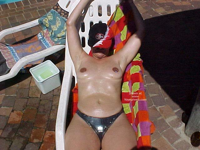 Pic #2 - Wife Enjoying The Sun