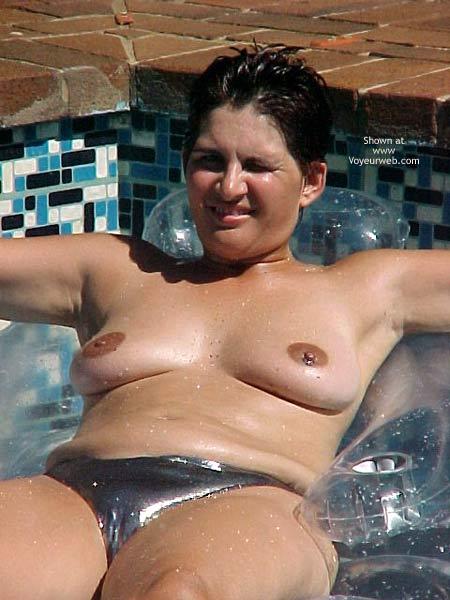 Pic #5 - Wife Enjoying The Sun