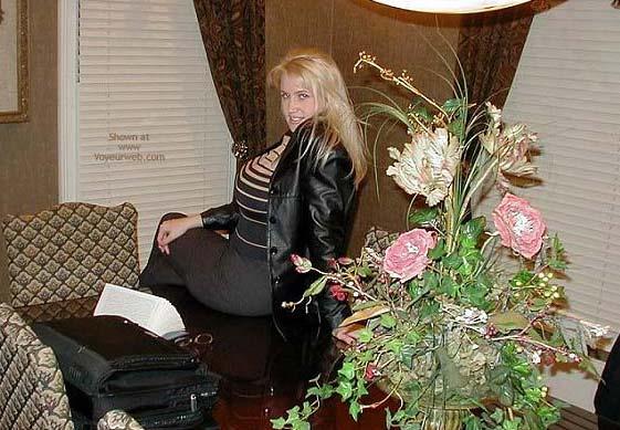 Pic #1 - Eden's Office Antics