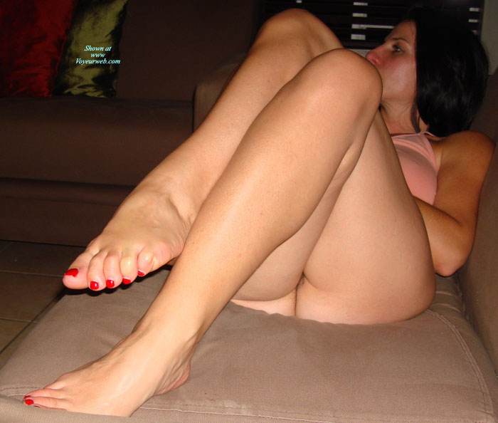 Pic #1 - Fun Evening On The Couch , We Were Watching TV And Got Distracted....