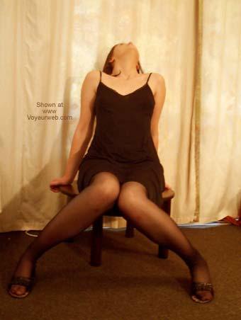 Pic #1 - Sexy Girlfriend's Striptease!
