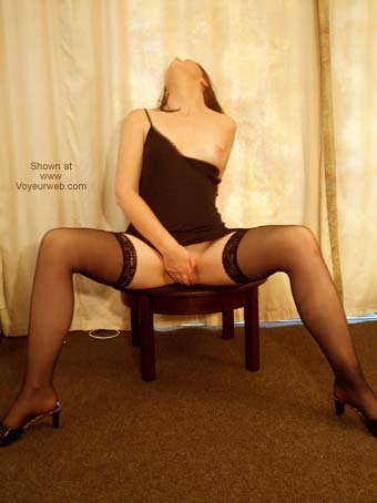 Pic #5 - Sexy Girlfriend's Striptease!