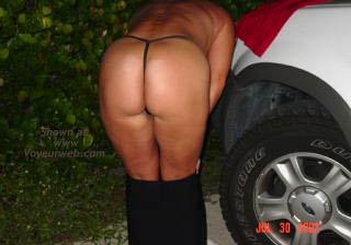 Pic #6 - South Florida Couple Outside 9 A