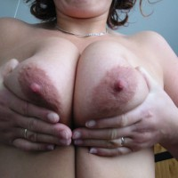 Milf Pressing Her Tits Together - Milf