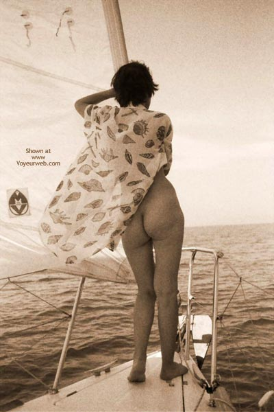 Pic #4 - Nude On Boat