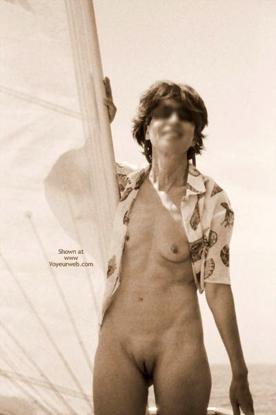 Pic #5 - Nude On Boat