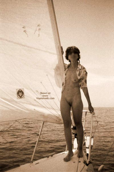 Pic #6 - Nude On Boat