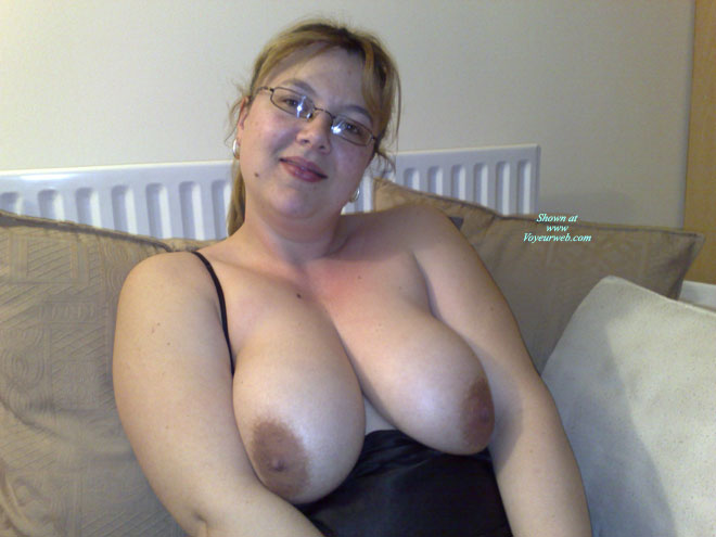 Pic #1 - Angela At Home , Relaxing At Home & After Sucking Off My Man Receiving A Nice Hot Face Full Of Cum...<br /><br />