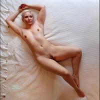 Naked Ballerina - Blonde Hair, Erect Nipples, Landing Strip, Long Hair, Small Tits, Naked Girl, Nude Amateur, Small Areolas