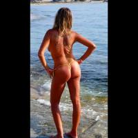 Sand Cookie - Blonde Hair, Topless
