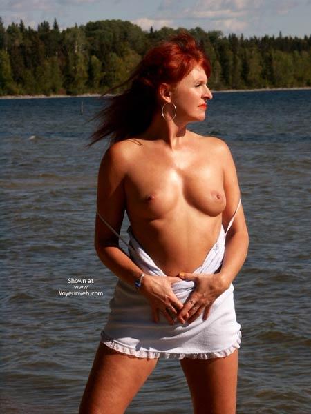Pic #8 - Red Tonya - Warm Beach Day