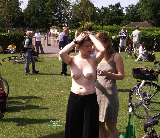 Pic #1 - World Naked Bike Ride 2008 , I Went Along To The WNBR In Brighton UK, Here Are Some Photographs That I Took At The Event.