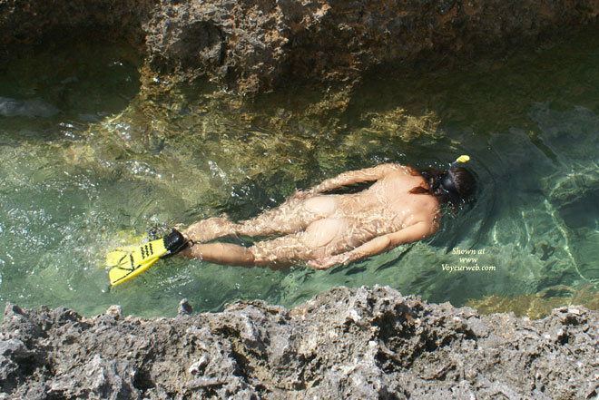 Pic #1 - Nude Snorkelling - Naked Girl, Nude Amateur , Skinny Dipping, In The Water, Nude  Swimming, Nude Outdoors, Snorkling Nude, Nude In Water, Sunny Bum, Naked Diving, Back To The Camera
