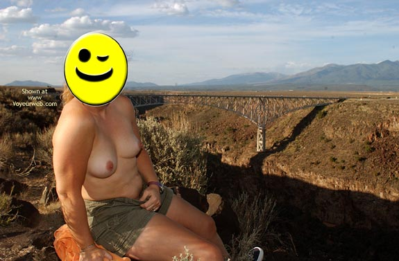 Pic #2 - Miss Smiles Naked in New Mexico