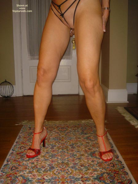 Pic #4 - Baby Doll Strips in Red Pumps