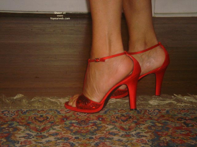 Pic #7 - Baby Doll Strips in Red Pumps