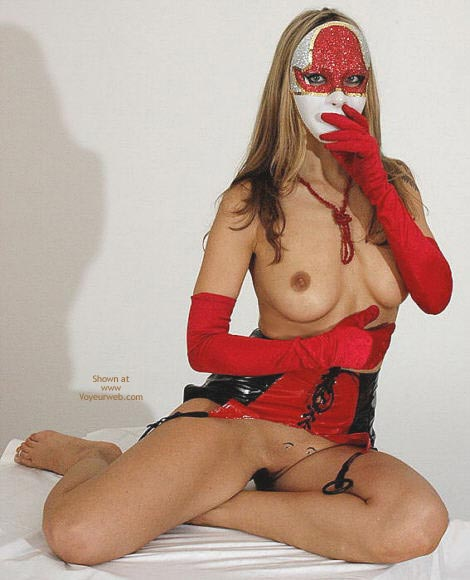 Pic #9 - Venetian Mask Striving For Super Sexy Award