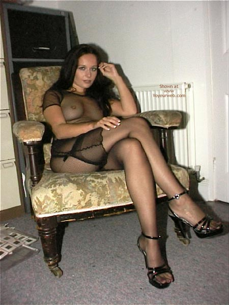 Pic #3 - A Very See Thru Dress & Stockings