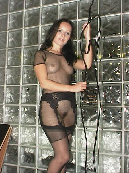 Pic #7 - A Very See Thru Dress & Stockings