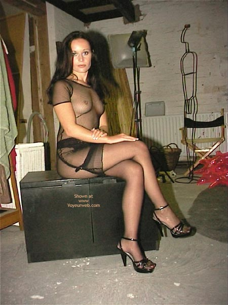Pic #10 - A Very See Thru Dress & Stockings