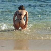 Tami On The Beach