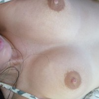 Sultry Expression With Beautiful Green Eyes - Brown Hair, Dark Hair, Natural Tits, Perfect Tits, Small Tits
