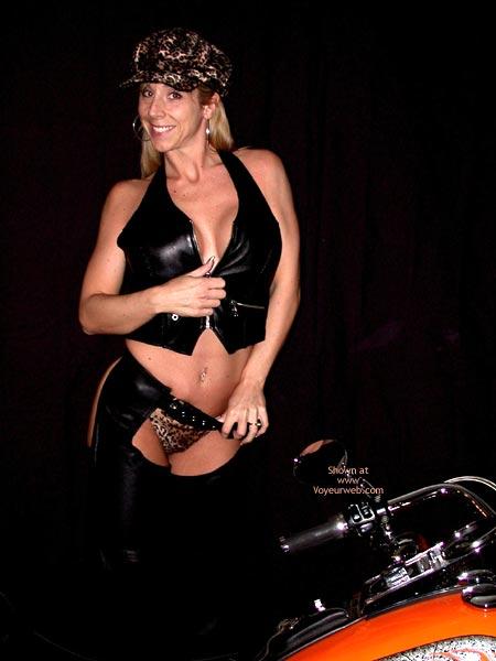 Pic #2 - Lexie As Biker Babe