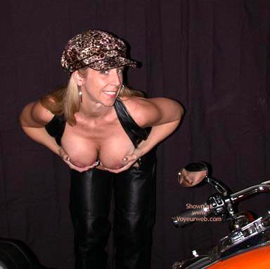 Pic #4 - Lexie As Biker Babe