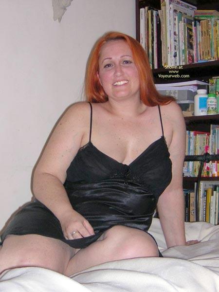 Pic #1 - Naughtysimone'S Silky Black Dress