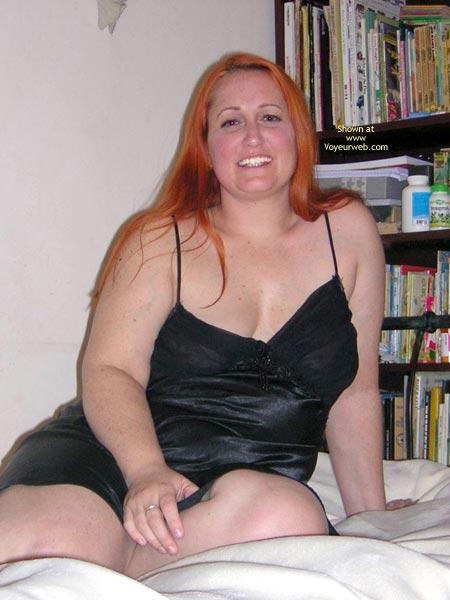 Pic #2 - Naughtysimone'S Silky Black Dress