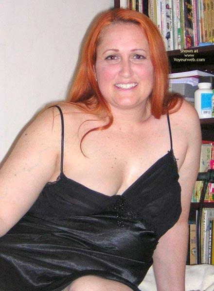 Pic #4 - Naughtysimone'S Silky Black Dress