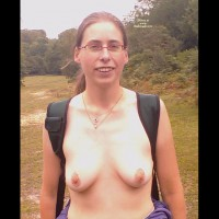 Stripping In Forest