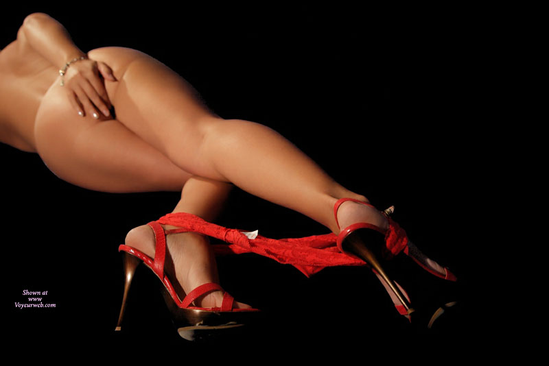 Pic #1 - Sexy Nude With Red Panties And Heels - Heels, Naked Girl, Nude Amateur, Sexy Feet, Sexy Legs , Arched Feet, Thong Pulled Down To Ankles, Lying Nude From Behind, Red Lace Panty, Hand Covering Ass, Red Spike Heels, Panties At Ankles, Red Panties And Red Heels, Nude Woman With Red Panties At Ankels And Red High Heels, Sexy Shoes, Lace Panty Around Ankles With Stilletoes, Arched Feet