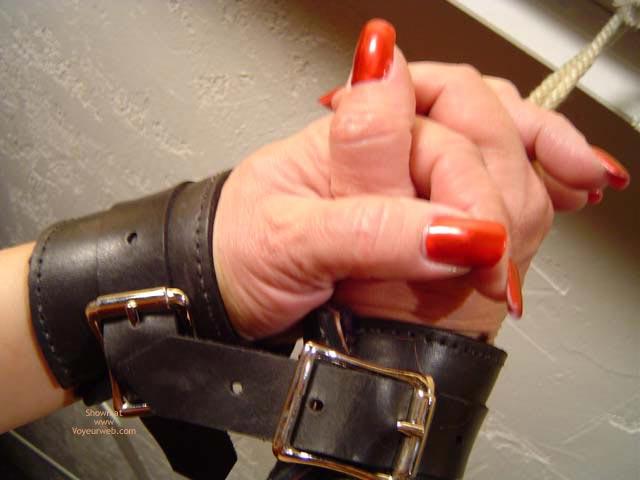 Pic #5 - Jacqui In Cuffs 1