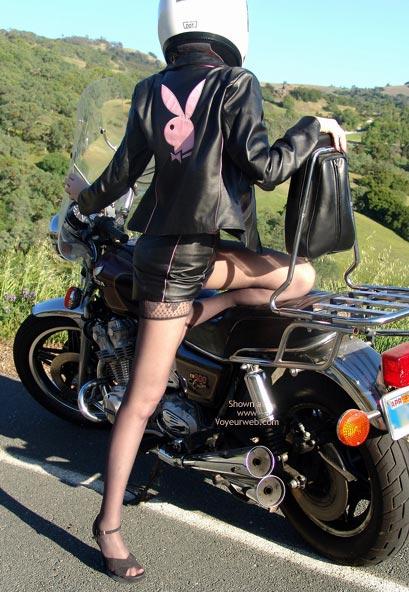 Pic #3 - *Mi Sandy Redhead'S Hot Honda Harlot!