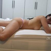 Sleeping Topless Brunette - Brunette Hair, Milf, Topless