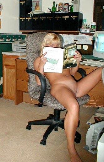 Pic #7 - Laney @ Her Desk
