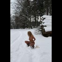 *SN Nackte Schneespiele