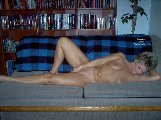 Pic #8 - Angelique Naked On The Couch