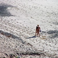 Nude Beach Sex From The Cliff