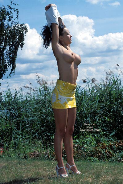Pic #6 - German Girl First Time