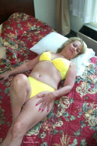 Pic #3 - Yellow Bikini