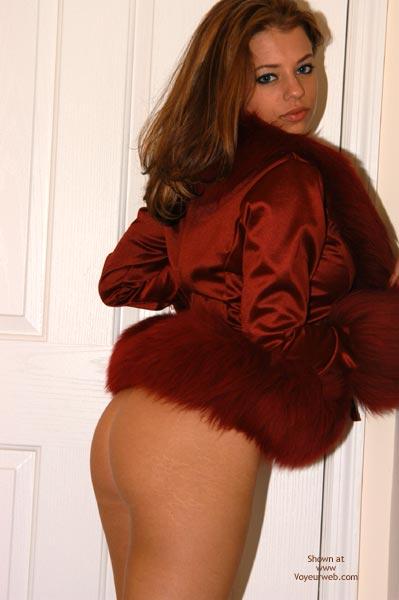 Pic #2 - Yevette  Fuzy Fuzzzy Red