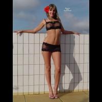 Long Legs - Blonde Hair, Heels, Long Hair, Long Legs, Milf, Nude Outdoors, Naked Girl, Nude Amateur